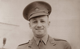 Don Bradman at war