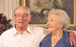 Sir Donald Bradman and Lady Jesse
