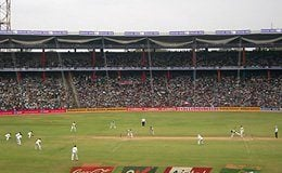 Equal 5th. M. Chinnaswamy Stadium Capacity: 55,000 Bangalore, India