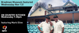 Bradman Centre featured in Mark Olive's 'On Country Kitchen'