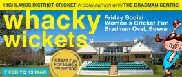 Whacky Wickets Returns on February 7th!