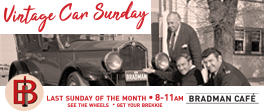 March 29 - Vintage Car Sunday