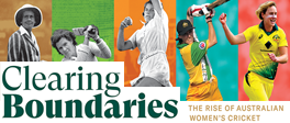 OUR BOOK – The Rise of Australian Women's Cricket