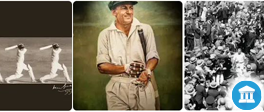 Visit our on-line Museum and stories. Who is Sir Donald Bradman?