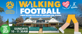 Walking Football: ON hold due to the LOCK DOWN
